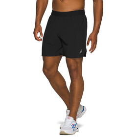 "asics Road 7"" Shorts Men performance black"